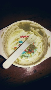 Kentang + brokoli kukus tumis daging yg lahap dimakan keenan